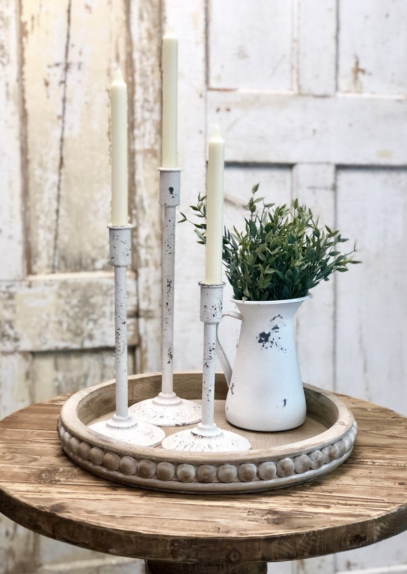 Country House Candlestick Set of 3 (Skinny)