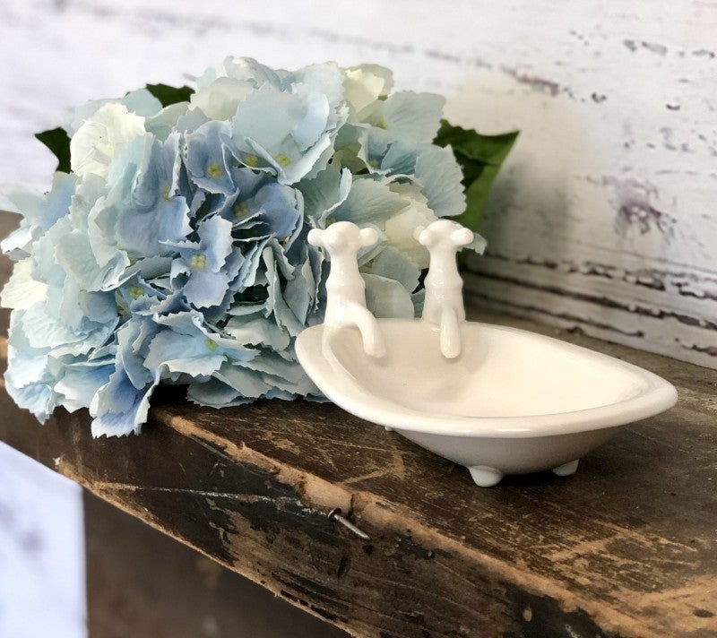 Ceramic Bath Tub Soap Dish