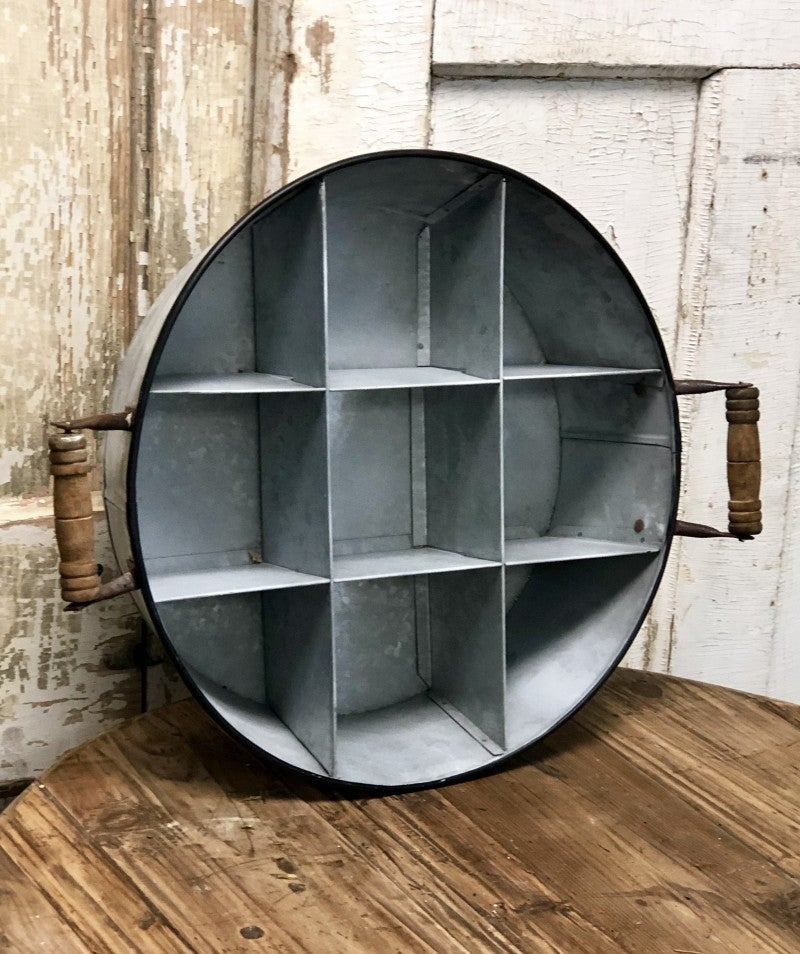 Round Divider Caddy with handles