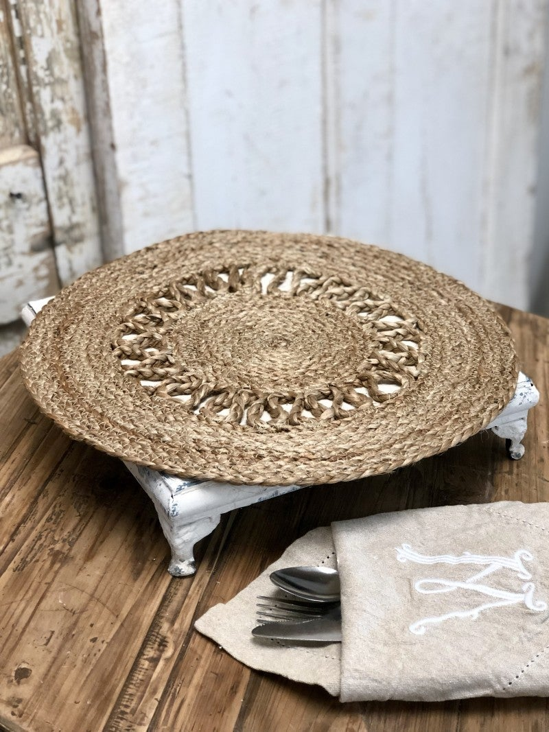 Round Jute Place-Mat (Set of 2)