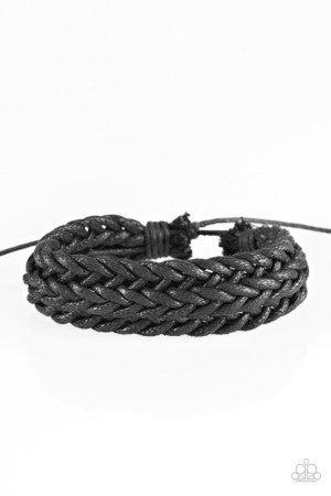 KNOT The End of the World Black Bracelet