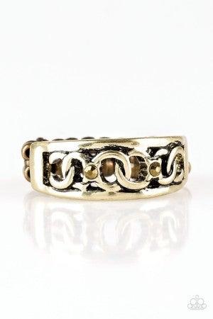 Street Cred Brass Ring