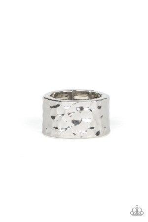 Self-Made Man Silver Ring