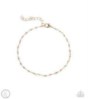 Shore Shimmer - Rose Gold Anklet