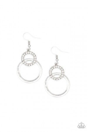 Regal Refinery White Earring