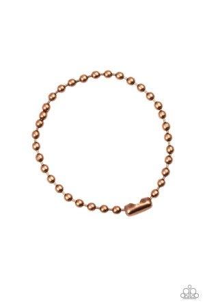 The Recruit - Copper Men's Bracelet