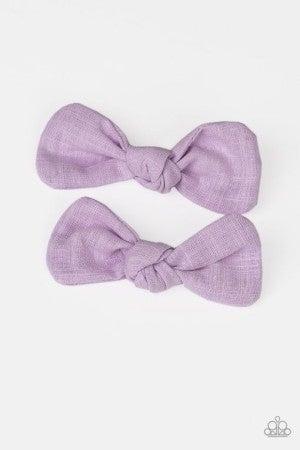 Little BOW Peep - Purple