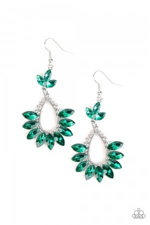 Extra Exquisite Green Earring