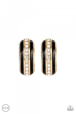 WEALTHY Living Gold Clip-on Earring