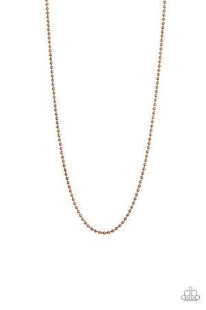 Cadet Casual - Copper Men's Necklace