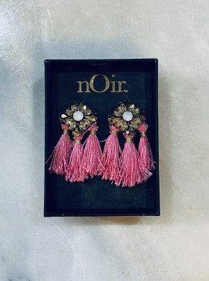 Color me pink earrings