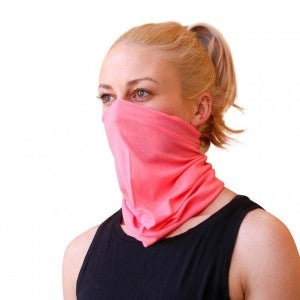 Pink Face-mask (11 uses)