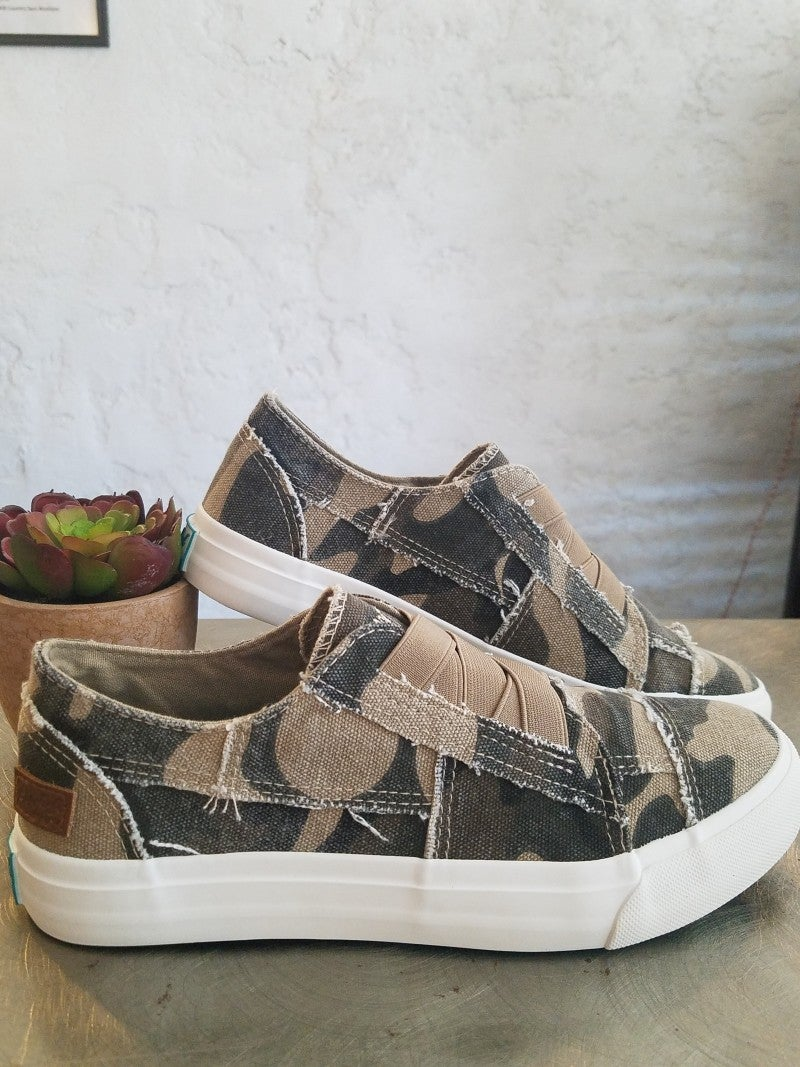 Natural Camoflauge Blowfish Shoes