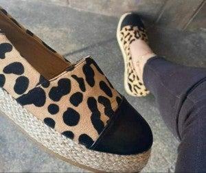 Raymond Leopard Shoes