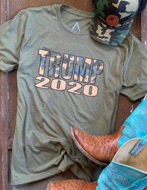 Men's Trump Camo 2020 Tee