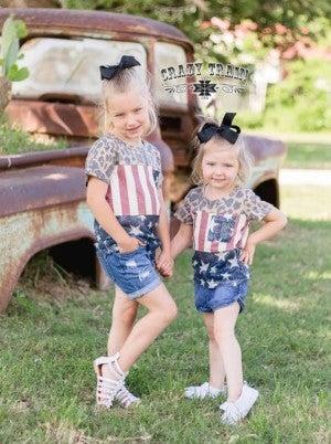 KIDS - JULY 4TH SPARKLER TEE