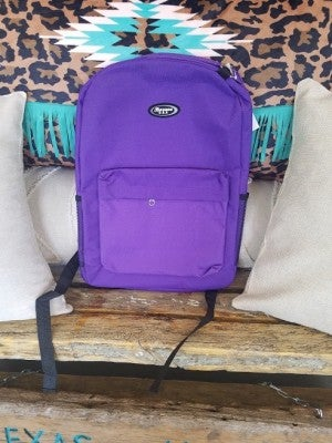Purple Backpack School Rated