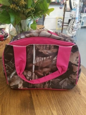 Pink Camo Insulated Lunchbag