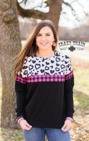 Leopard Love Pullover