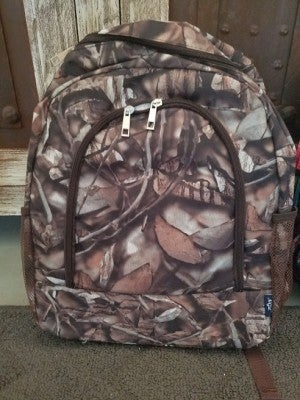 Large Camo Backpack