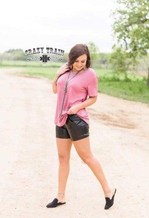Sassy Side Shorts** Black