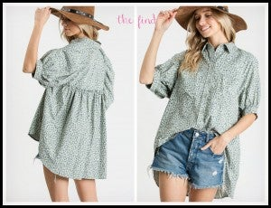 Coco Top in Mint