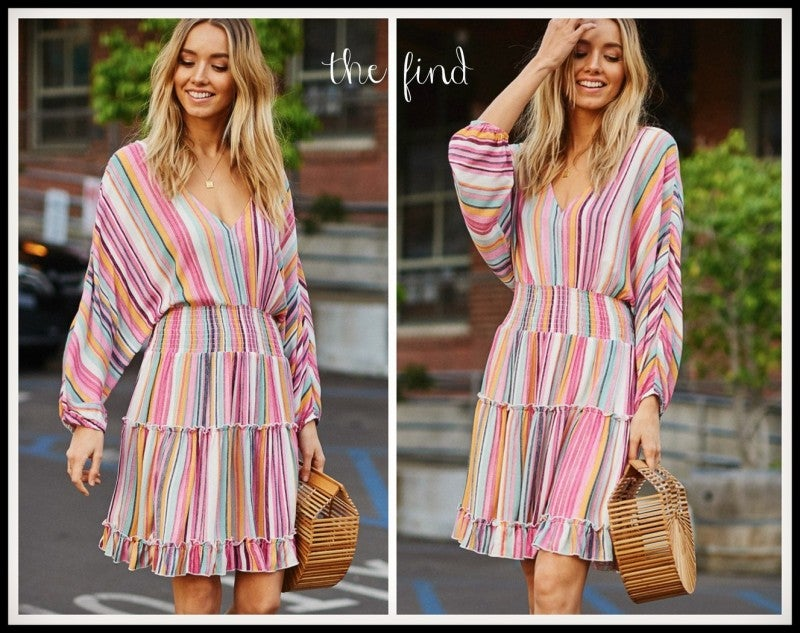 Penelope Stripe Dress