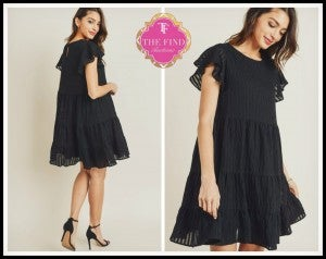 Cara Dress in Black