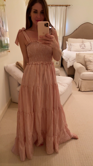 Eloise Maxi in Pink