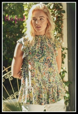 Haley Floral Top