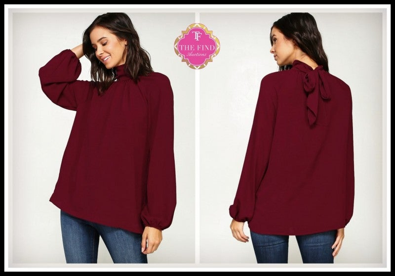 Jamison Top in Wine