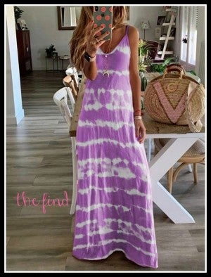 Bailey Maxi in Purple