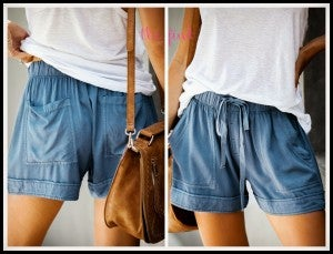 Blakely Shorts in Blue