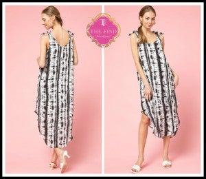 Reed Tye Dye Dress