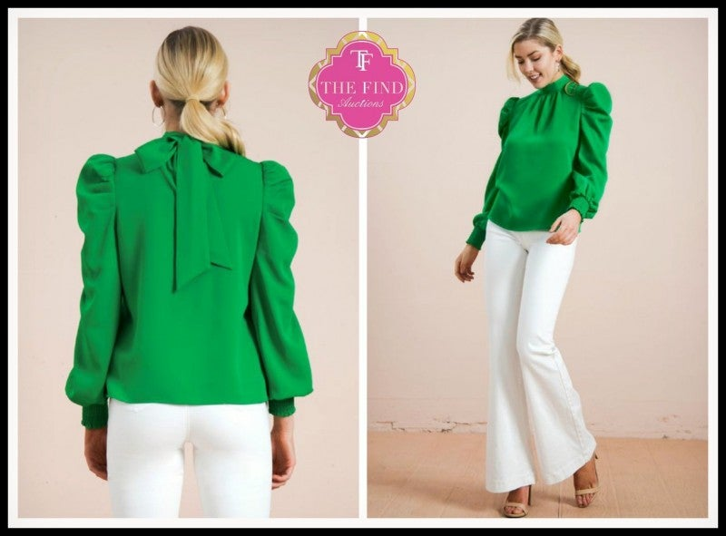 Penelope Top in Green