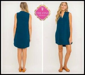 Brighton Dress in Blue