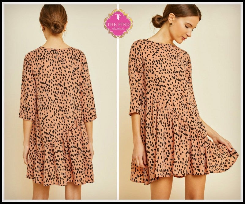 Trixie Cheetah Dress