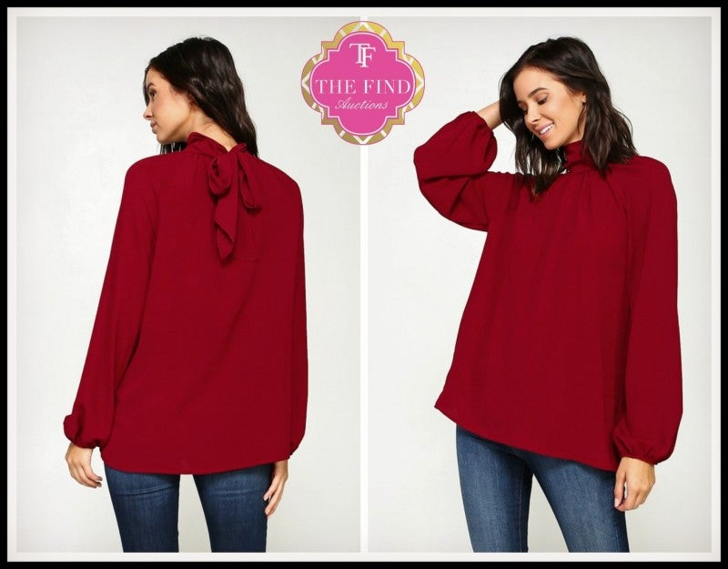 Jamison Top in Red