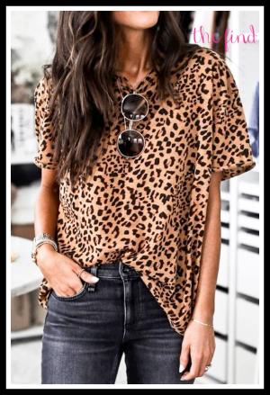 Sophie Leopard Top