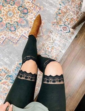 The Lace Legging