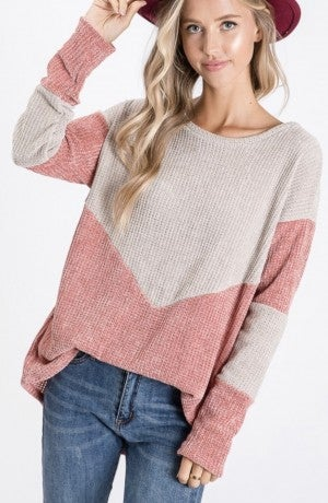 The Pink Peyton Pullover