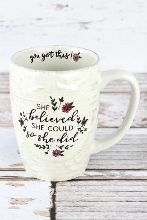 The Believer Mug