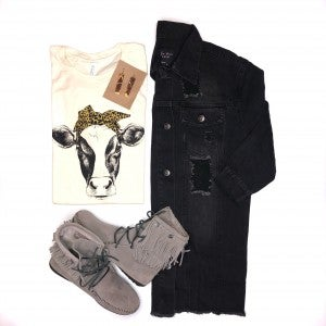 The Black Denim Jacket