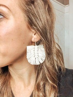 The Macrame Earring