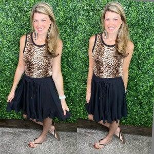 Summer Frills Godet Skirt