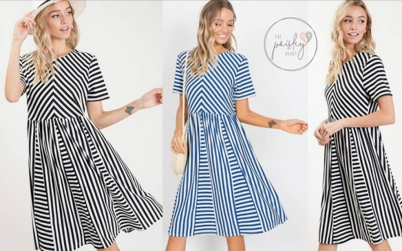 Stripe This Way - Short Sleeve