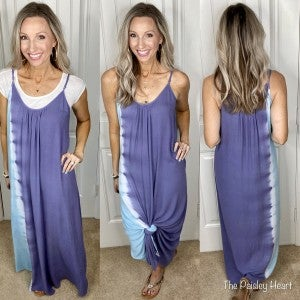 Tie Dye For Maxi Dress - LMTD STOCK!
