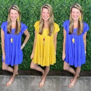Kellee Swiss Dot Dress