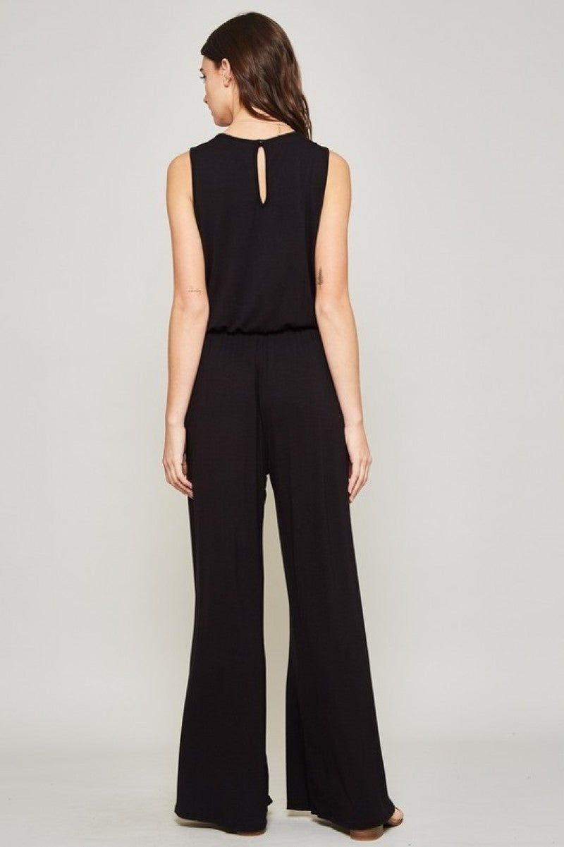 Solid Statement Jumpsuit
