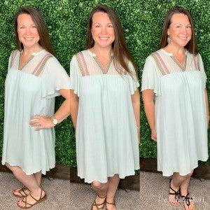 Mint for Spring Dress